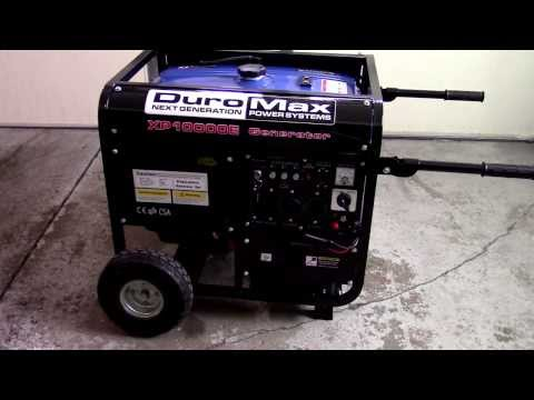 DuroMax XP10000E Generator Review and Operation