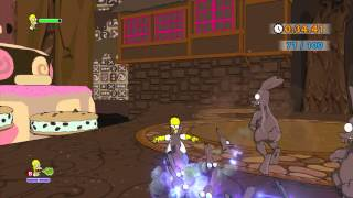 The Simpsons Game (Xbox 360) ~ Level 1: The Land of Chocolate (Time Challenge)
