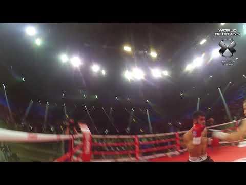 Эдуард Трояновский - Карлос Портильо | Referee cam | Мир бокса