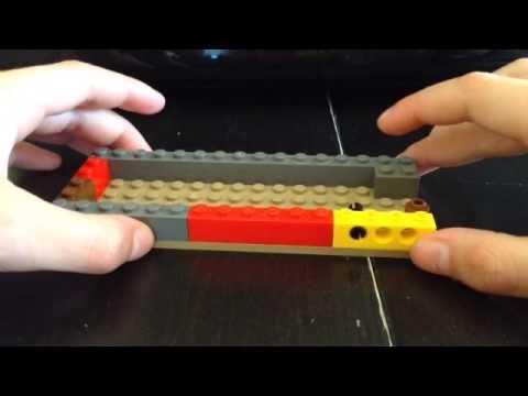 Assassins Creed hidden blade out of lego proper mechanism