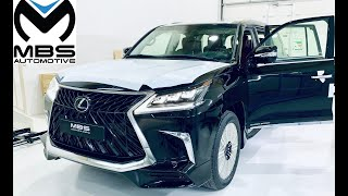 Lexus LX 570 MBS Autobiography 4 Seater in Sunflare Brown