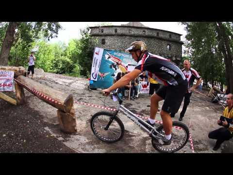 7 й Этап Кубка России по велотриалу в Москве 2012г