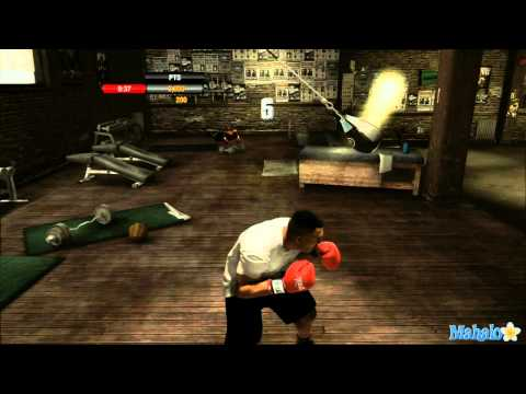 Fight Night Champion Walkthrough - Training Games - Maize Bag