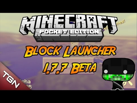 Block Launcher Pro 1.7.7 Beta Minecraft PE 0.9.5 +Descarga