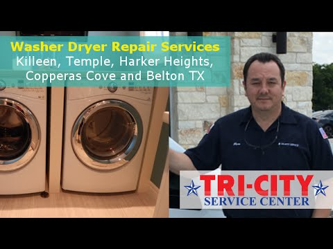 Washer Dryer Repair Killeen TX - Review Video