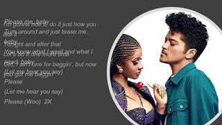 Please me- Cardi B & Bruno mars