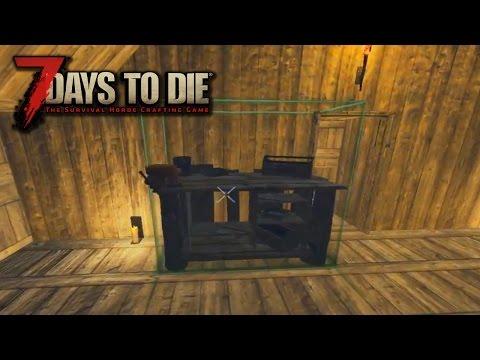Как сделать верстак в 7 days to die