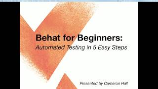 Behat for Beginners: Automated Testing in 5 Easy Steps