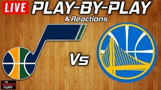 Jazz vs Warriors   Live Play-By-Play & Reactions