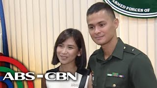 Matteo Guidicelli ganap nang 2nd Lieutenant sa PH Army | TV Patrol