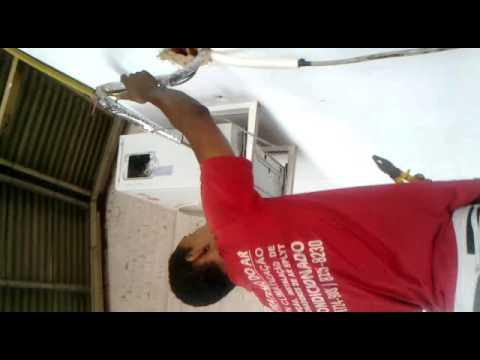 Ar split condensador