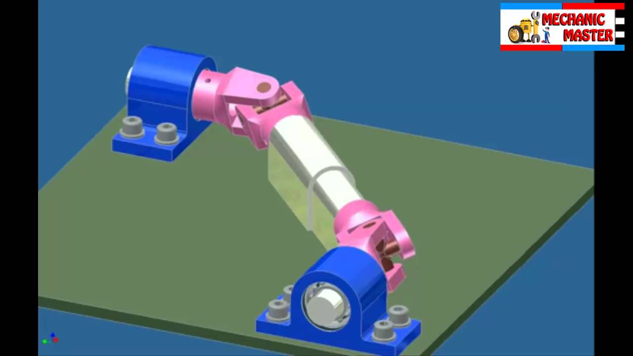 Car Drive Shafts Drive Shaft Simulation 3d