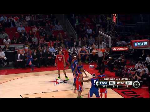 Chris Paul 20pts 15 asts Highlight in 2013 NBA All-Star MVP