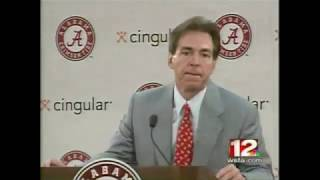 2007 Nick Saban Introductory Press Conference