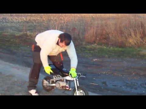 Der Unfall mit ein Poket Bike