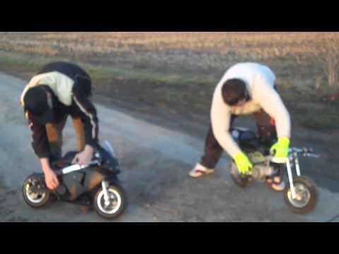Der Unfall mit einem Poket Bike