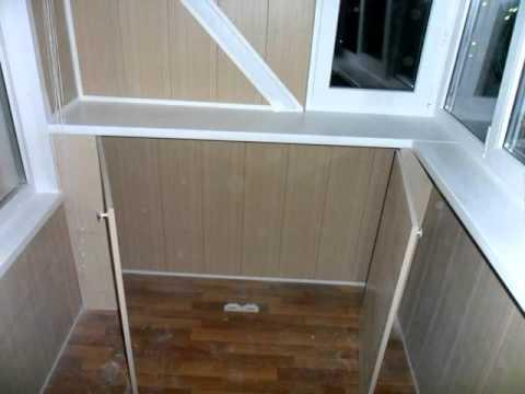 Пример отделки лоджии 3 метра под ключ слайдшоу how to make .
