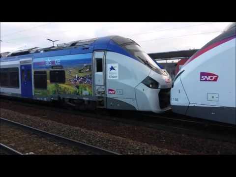 Les Nouveaux Régiolis Intercité Coradia Liner en Alsace