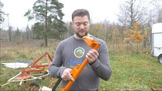 Finally A New Forestry/Firewood Tool That Helps