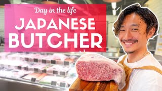 Day in the Life of a Japanese Butcher Shop Owner