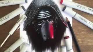 Star Wars Kylo Ren Drawing