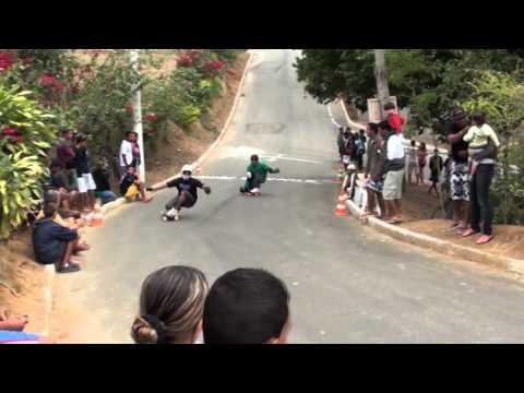 Campeonato Zona de Perigo de Skate Downhill Brazil