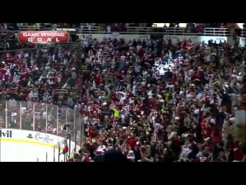 Henrik Zetterberg OT goal 4-3 complete OT. May 10 2013 Anaheim Ducks vs Detroit Red Wings NHL Hockey