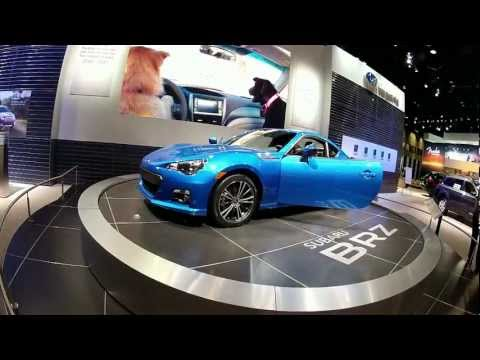 2012 Chicago Auto Show HD Shot with GoPro Hero2