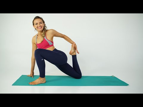 Vinyasa Yoga Sequence (40 min) -- Stretch Out after You Run, Bike or Hike