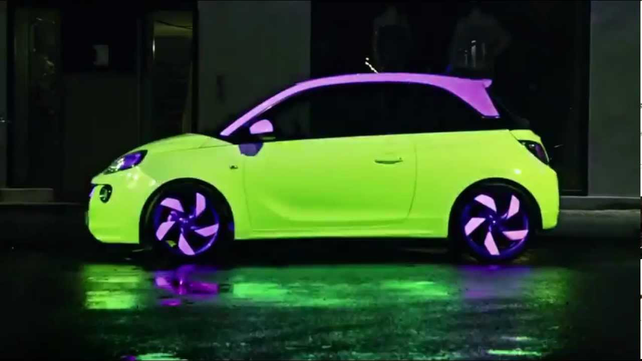 opel adam werbung aus d nemark the color changing car youtube. Black Bedroom Furniture Sets. Home Design Ideas