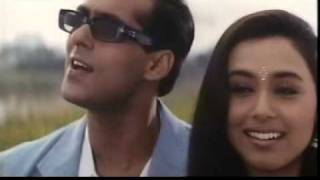 Sarki Jo Sar Se Woh Dheere Dheere (Rani Mukharji and Salman Khan) - Hindi / Bollywood Song