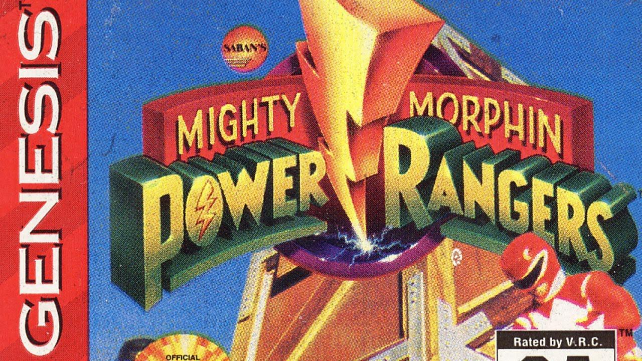 Classic Game Room Mighty Morphin Power Rangers Sega