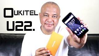 Unboxing do Oukitel U22 com 4 Câmeras por R$220.00 em PT-BR.