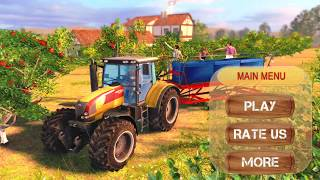 New tractor farming 2017 game play review
