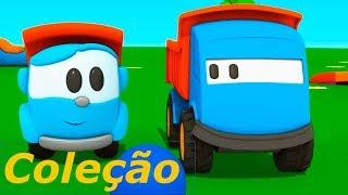 Léo o caminhão e Léo Junior. Coleção. Animação infantil