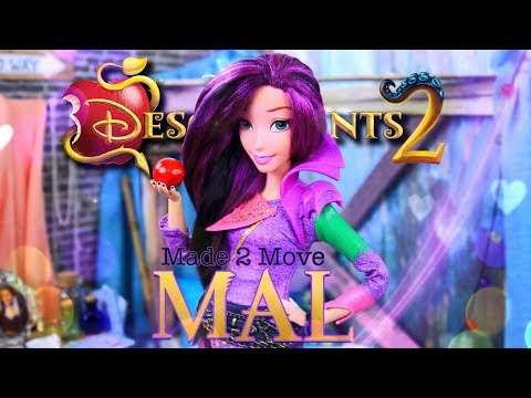 DIY - How To Make: Made to Move Disney Descendants 2 | Mal | Custom Doll