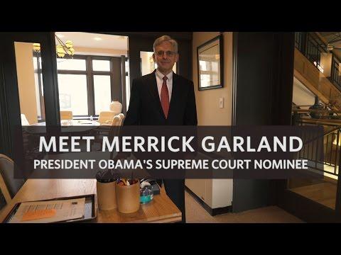 Meet Merrick Garland, President Obama's Supreme Court Nominee
