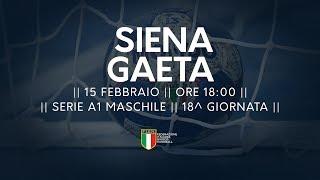 Serie A1M [18^]: Siena - Gaeta 31-20