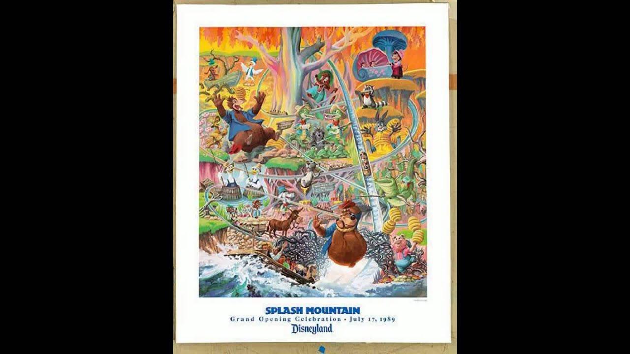 Splash Mountain Full Ride Soundtrack - YouTube