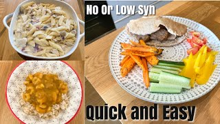 5 QUICK, EASY SLIMMING WORLD DINNERS | 0 OR LITTLE SYN | Lisa Moore