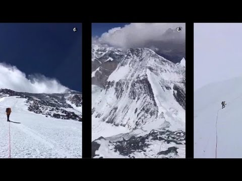 Mount Everest climbers Snapchat epic journey