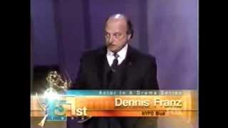 Dennis Franz wins 1999 Emmy Award for Lead Actor in a Drama Series
