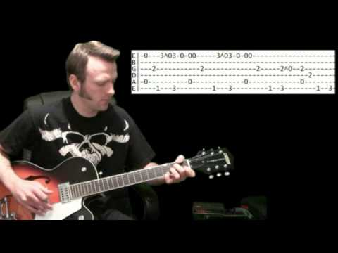 how to play mother by danzig on guitar