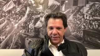 Haddad ameaça Justiça, a população e a democracia brasileira.
