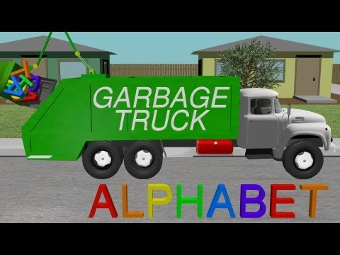 Alphabet Garbage Truck - Learning for Kids