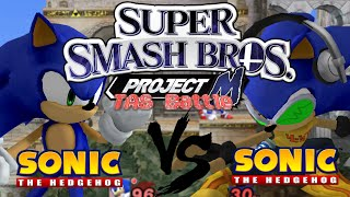 Sonic vs Sonic Project M TAS