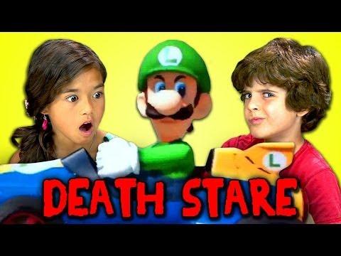 Kids React to Luigi Death Stare
