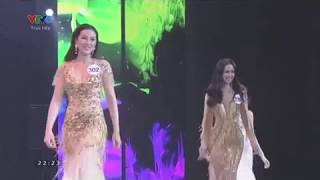 3 Miss FALL DOWN at Miss Universe Vietnam 2017 beauty pageant. HD and slow motions