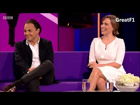 Claire Williams and Felipe Massa on the Clare Balding Show. 28.01.2016