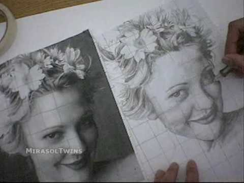 Drew Barrymore Drawings Drew Barrymore Drawing by